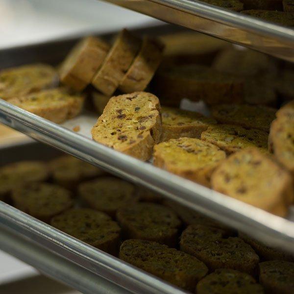 Biscotti Baking